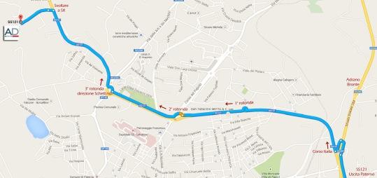 Mappa Stradale c